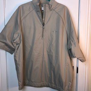 NWT Greg Norman size Lg short sleeved jacket